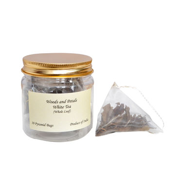 Wood & Petals white tea, 10 tea bags