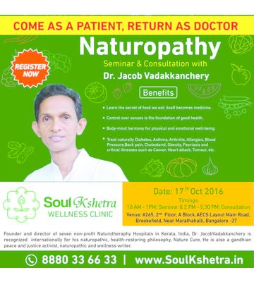 Naturopathy Seminars & Consultation