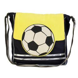 The Jute Shop Yellow n black Bag