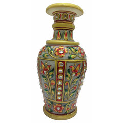 Deco Junction Marble vase (9 inch), marble, 20, 10