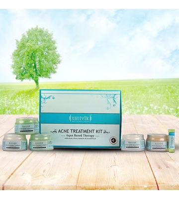 SATHVIK ACNE TREATMENT KIT, 260 gm