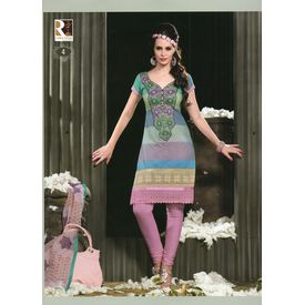 MONACO - 1099SH04TMKE - Cotton Embroidery Suit