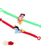 Creativity Centre Set Of Two Kids Rakhi Wrist Band...