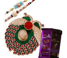Creativity Centre Rakhi Thali Rakhi Hampers With Chocolates