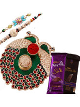 Creativity Centre Rakhi Thali Rakhi Hampers With Chocolates
