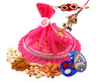 Creativity Centre Rakhi Dry Fruit For Bhaiya Bhabhi