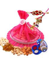Creativity Centre Rakhi Dry Fruit For Bhaiya Bhabhi