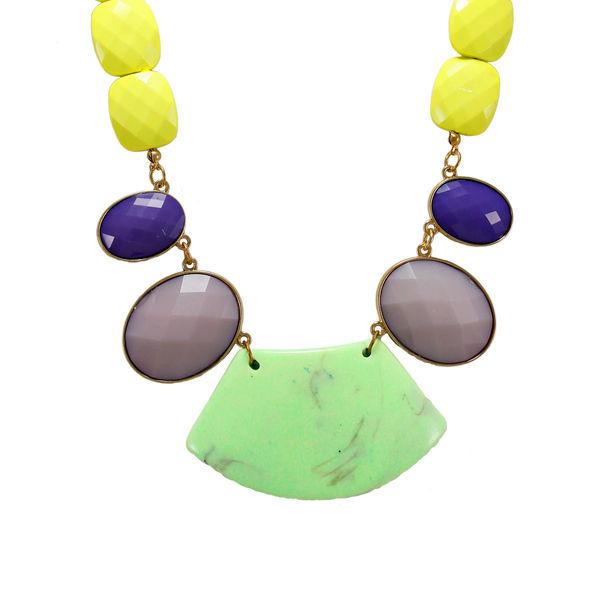 Unique Designer Multi-Color Fashion Necklace For Women