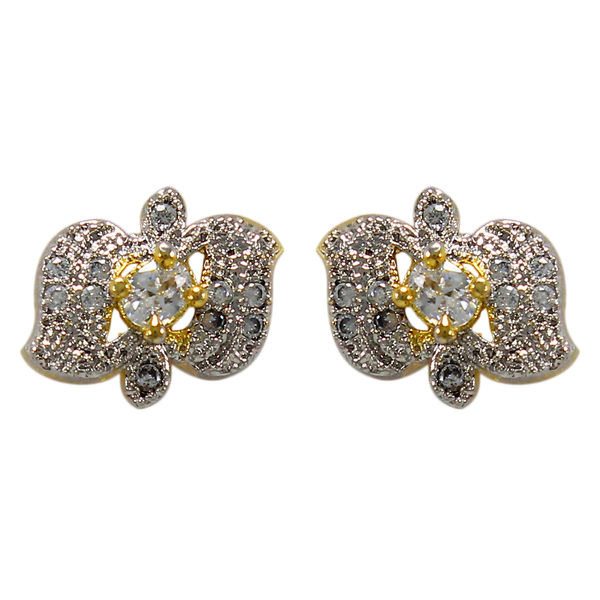 Casual Wear American Diamond Studs For Women