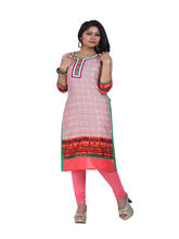 Minu Suit Suits Light Casual Floral Print Women'S Kurti, pink, xl