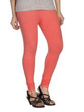 Minu Suits Premium Womens Leggings (PL_ 55), peach