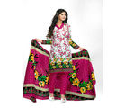 Minu Suits Casual Churidaar Kurta With Dupatta Unstitch (Koyal_ 1009), multicolor