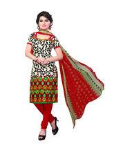 Minu Suits Casual Churidaar Kurta With Dupatta Unstitch (Minusignature2_ 2005), multicolor