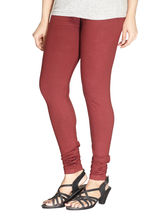 Minu Suits Premium Womens Leggings (PL_ 33), maroon