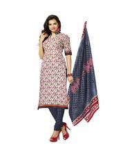 Minu Suits Casual Churidaar Kurta With Dupatta Unstitch (Dhoom_ 6002), multicolor