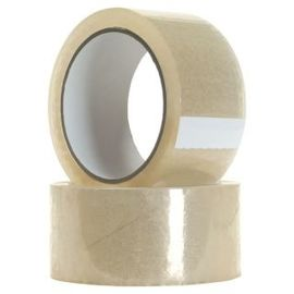 60 MTRS - 2 Inch Wide - Best Quality Tranparent Tape For Home/ Office/Packaging - Pack Of 6 Rolls