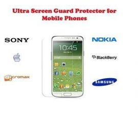Ultra Clear HD screen scratch guard Guard protection Micromax A116i