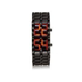 Sports LED Display Cum Bracelet Samurai Watch