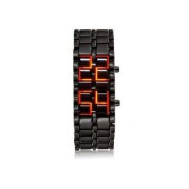 Sports LED Display Cum Bracelet Samurai Watch