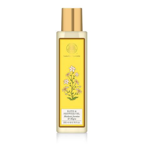 Forest Essentials Jasmine & Mogra Shower Oil