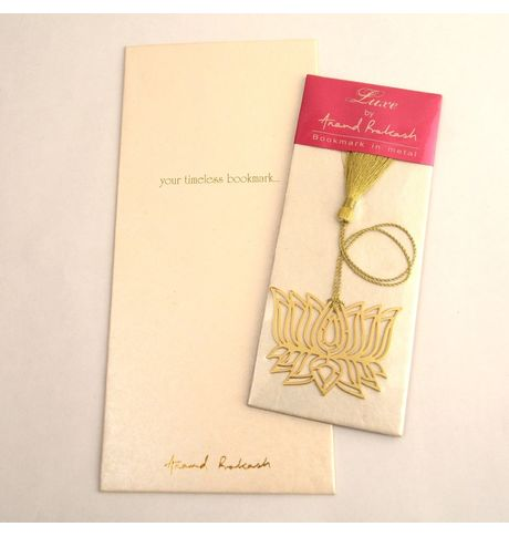 Anand Prakash Lotus Bookmark