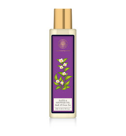 Forest Essentials Oudh & Green Tea Shower Oil