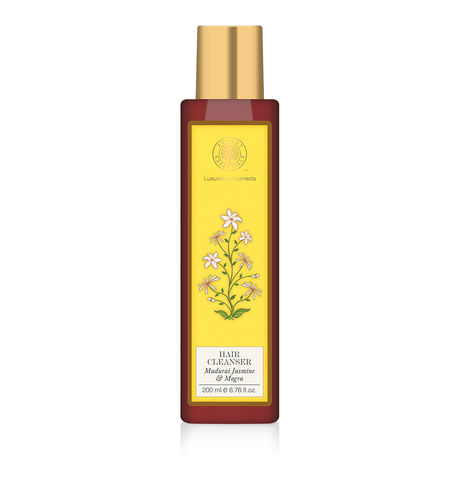 Forest Essentials Jasmine & Mogra Hair Cleanser