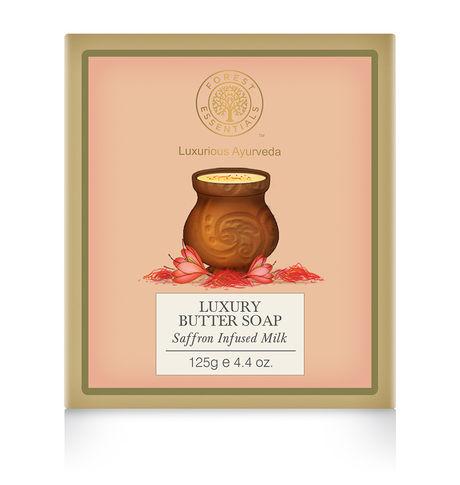 Forest Essentials Saffron Butter Soap