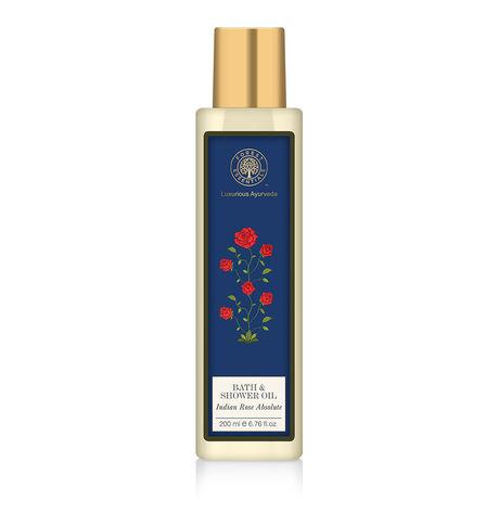 Forest Essentials Rose Shower Oil