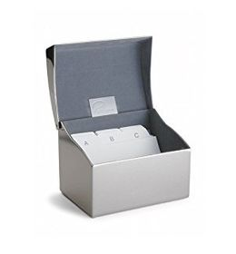 Philippi Clip Business Card Box With Index