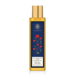 Forest Essentials Geranium Body Massage Oil