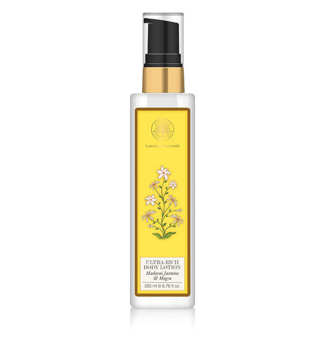 Forest Essentials Madurai Jasmine & Mogra Body Lotion