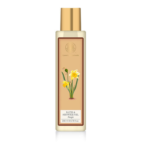 Forest Essentials Nargis Shower Oil