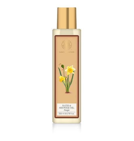 Forest Essentials Nargis Shower Oil
