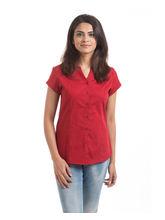Hashtagirls Casual Shirts (1SH005), red, l