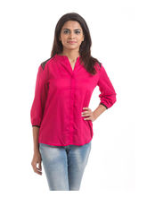 Hashtagirls Casual Shirts (1SH017), red, l