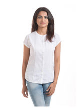 Hashtagirls Casual Shirts (1SH009), white, m