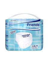 Friends Adult Pull-Ups Diapers Large/Extra Large (8SHC016)