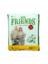 Friends Adult Diapers Large (8SHC013)