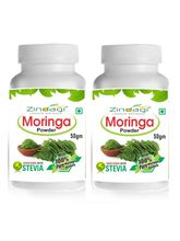 Zindagi Moringa Powder Natural Vitamin & Minerals Natural Nutrition Supplement, 100 gm