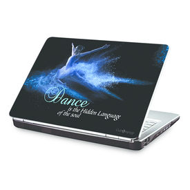 Clublaptop Dance Is The Hidden Language Of The Soul -CLS 179 Laptop Skin(For 15.6  Laptops)