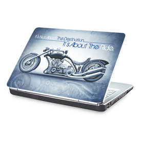 Clublaptop It s Not About The Destination, It s About The Ride -CLS 185 Laptop Skin(For 15.6  Laptops)