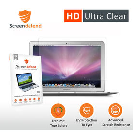 ScreenDefend Ultra Clear Screen Guard for Apple MacBook Air 13.3 inch MC504LL/A
