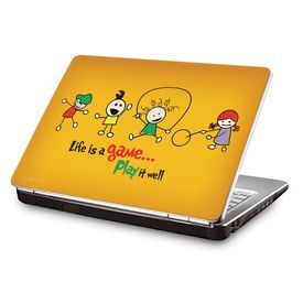 Clublaptop LSK CL 68: Life Is A Game - Play It Laptop Skin