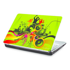 Clublaptop Music Is Everywhere -CLS 163 Laptop Skin(For 15.6  Laptops)