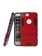 DOMO nClose CC452DF Mobile Phone Defender Protection Carry Case for Apple iPhone 7 Plus, red
