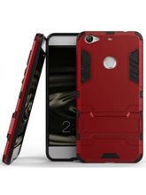 DOMO nClose CC453DF Mobile Phone Defender Protection Carry Case for LeEco LeTV 1s, red