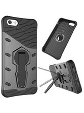 DOMO nClose CC448SN Mobile Phone Sniper Protection Carry Case for Apple iPhone 5 / 5S, golden