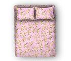 Swiss Republic Super Soft Cotton Bedsheet With 2 Pillow Covers (MF-SR-SH8184), pink