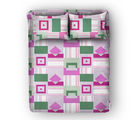 Swiss Republic Super Soft Cotton Bedsheet With 2 Pillow Covers (MF-SR-SH8180), pink